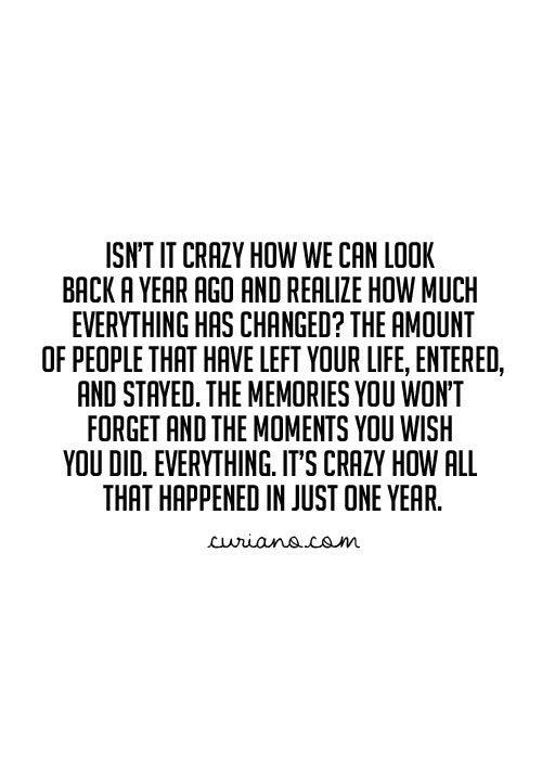 Isn't it crazy?